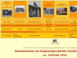 Cover: Hamburg - Lurup Eidelstedt Stellingen Informationen zur Regionalgeschichte