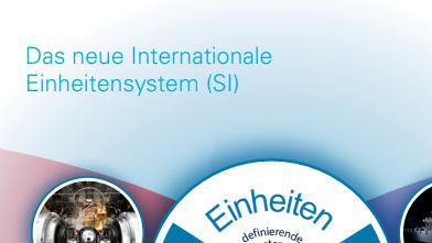 Cover: PTB-Infoblatt – Das neue Internationale Einheitensystem (SI)