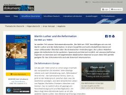 Cover: Martin Luther und die Reformation - dokumentARfilm GmbH