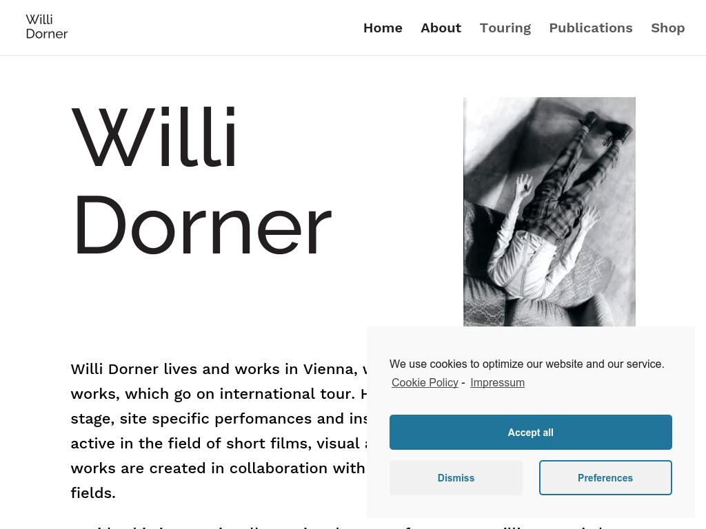 Cover: Willi Dorner
