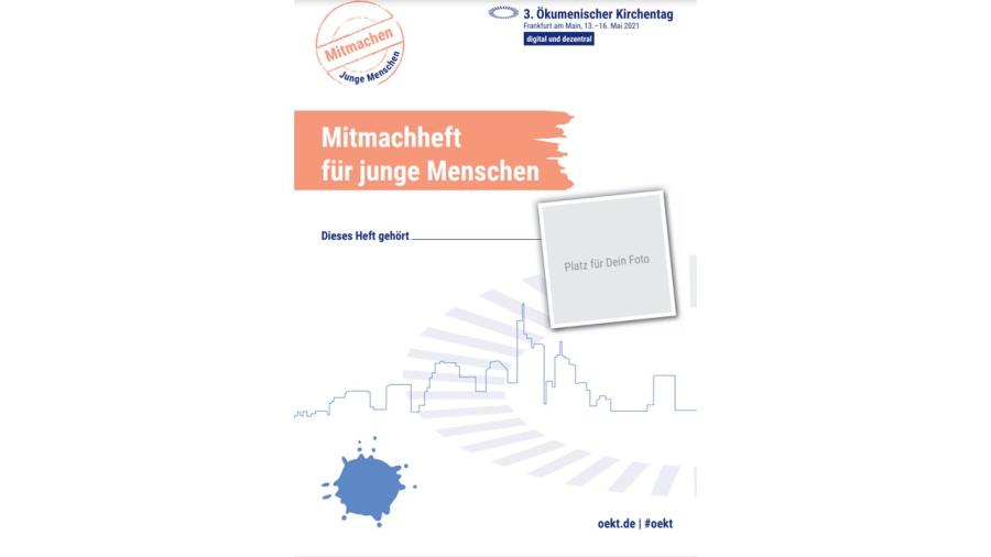 Cover: Mitmachheft für junge Menschen (OEKT 2021)