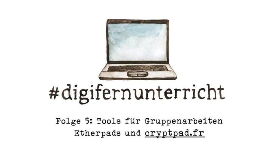 Cover: Folge 5: Tools für Gruppenarbeiten –Etherpads und Cryptpad.fr