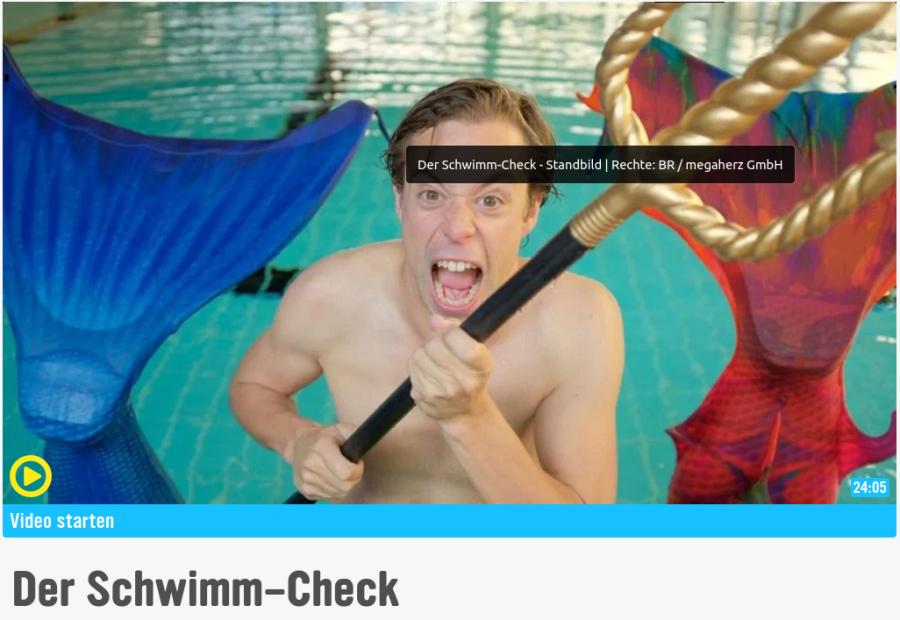 Cover: Der Schwimm-Check - KiKA