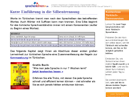 Cover: Silbentrennung im Türkischen