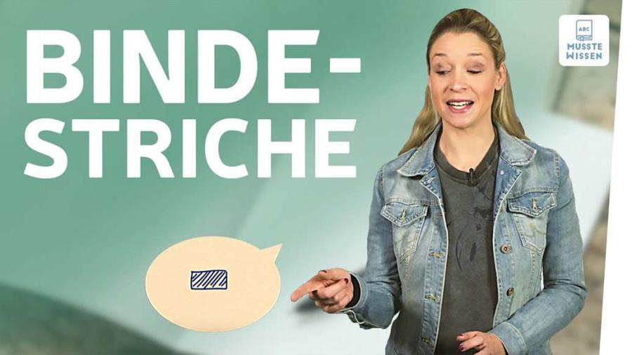 Cover: Bindestrich I musstewissen Deutsch