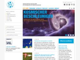 Cover: DESY - Deutsches Elektronen-Synchrotron