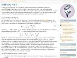Cover: Elektrische Felder — Grundwissen Physik