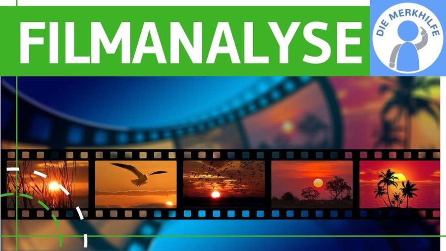 Cover: Filmanalyse - Aspekte für Beschreibung & Analyse + Grundbegriffe einfach erklärt