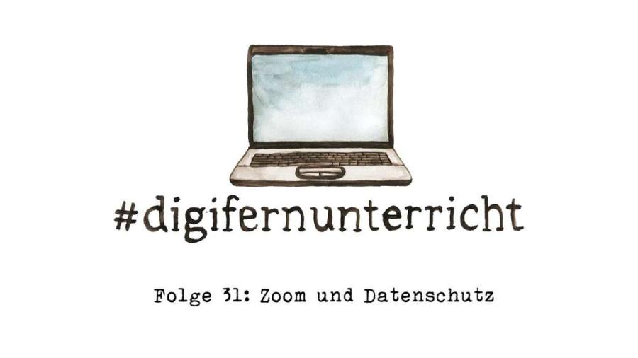 Cover: Zoom und Datenschutz