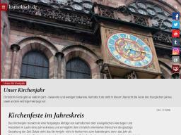 Cover: Unser Kirchenjahr