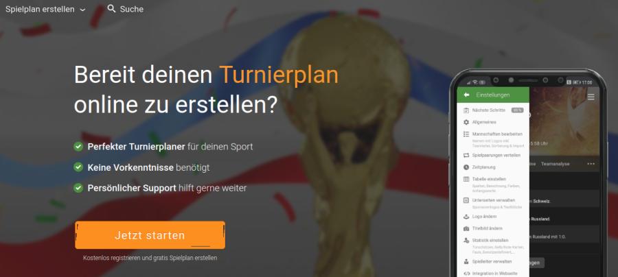 Cover: Turnierplan erstellen   Fußball & Co   Alternative zu Excel