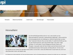 Cover: Himmelfahrt – Themenseite