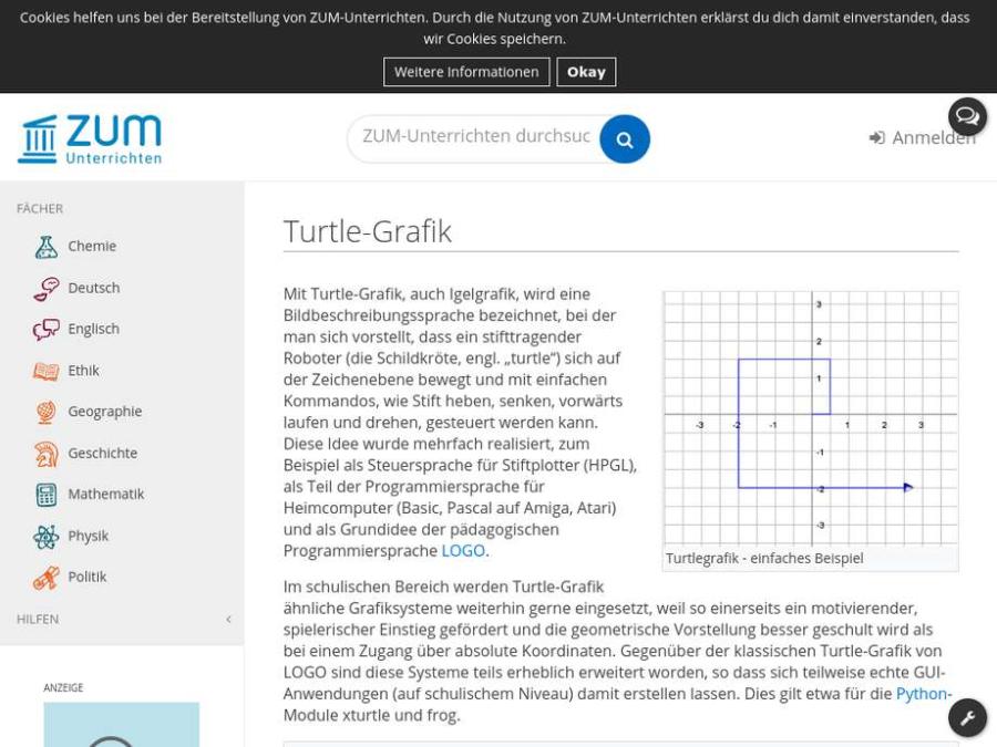 Cover: Turtle-Grafik