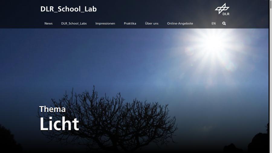 Cover: DLR_School_Lab - Lernmodul: Licht