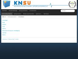 Cover: KNSU - Schwimmen