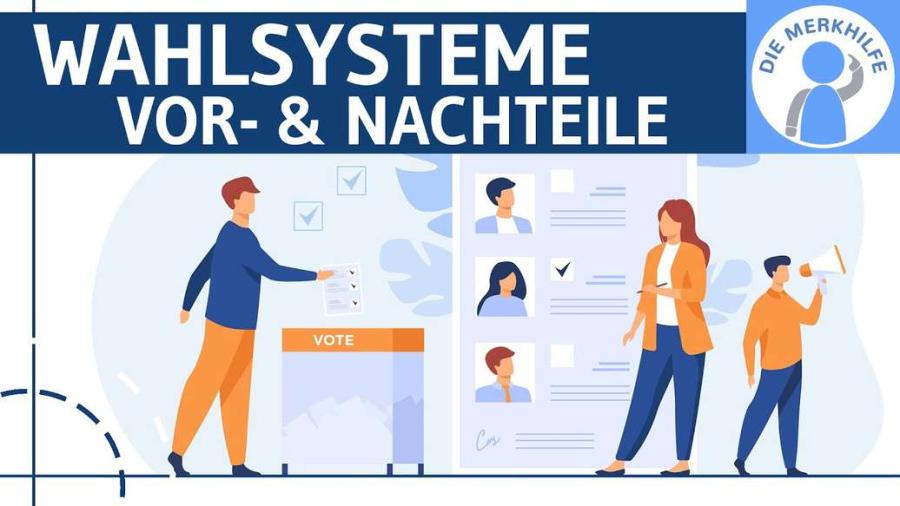 Cover: Wahlsysteme - Mehrheitswahl & Verhältniswahl einfach erklärt