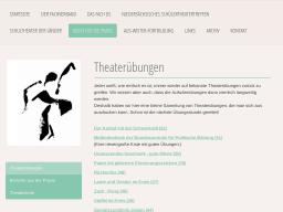 Cover: Theaterübungen - Fachverband Schultheater - Darstellendes Spiel Niedersachsen e.V.