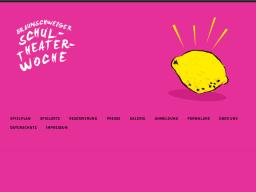 Cover: Braunschweiger Schultheaterwoche