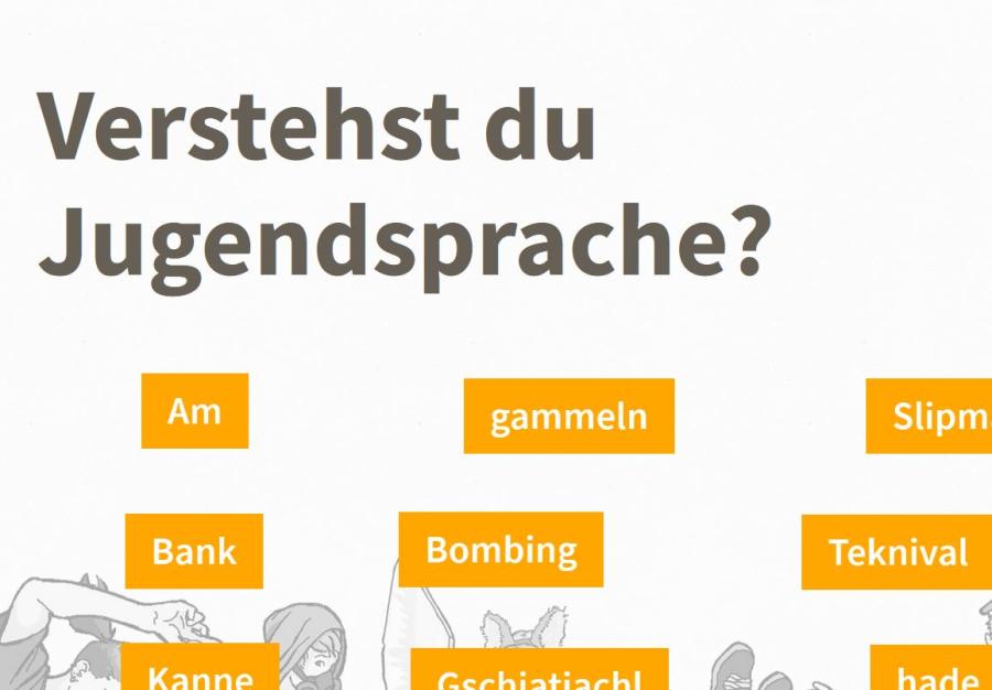 Cover: Jugendsprache-Quiz