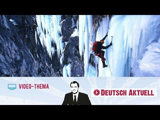 Cover: Die Dolomiten: ein Paradies für Eiskletterer | Deutsch lernen mit Videos
