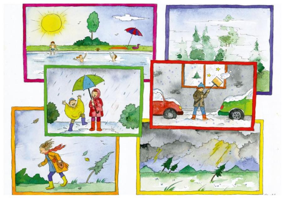 Cover: Wimmelbild | Wetter