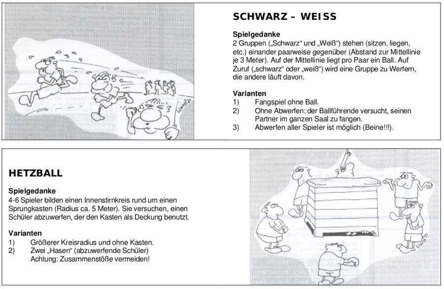 Cover: Spiele- und Übungssammlung