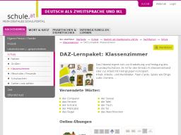 Cover: DAZ-Lernpaket | Klassenzimmer