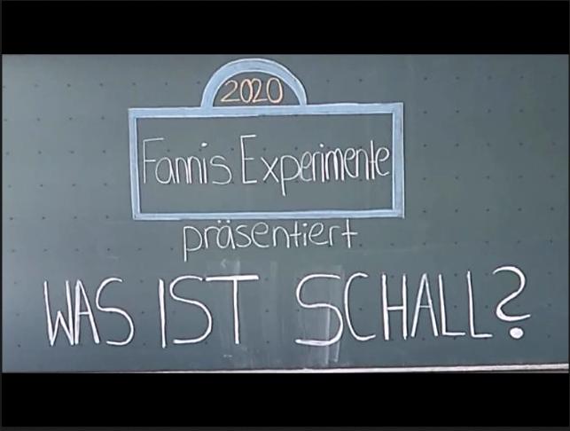 Cover: Erklärvideo: Was ist Schall?