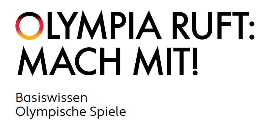 Cover: Olympia ruft - mach mit! Basiswissen Olympische Spiele